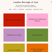 London Borough of Jam website (2020)