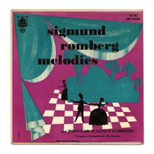 <span>Viennese Symphonic Orchestra – </span><cite>Sigmund Romberg Melodies And Popular Waltz Favorites</cite> album art