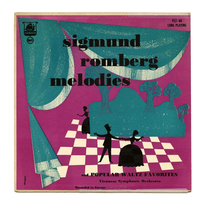 Viennese Symphonic Orchestra – Sigmund Romberg Melodies And Popular Waltz Favorites album art