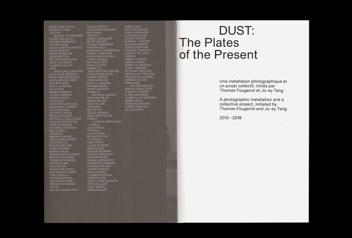 DUST: The Plates of the Present 2