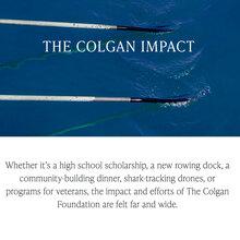 Colgan Foundation website