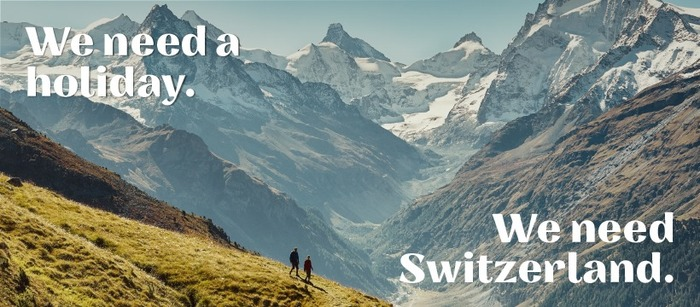 """""""Ich/Wir brauchen Schweiz."""" [""""I/We need Switzerland.""""] campaign 5"""