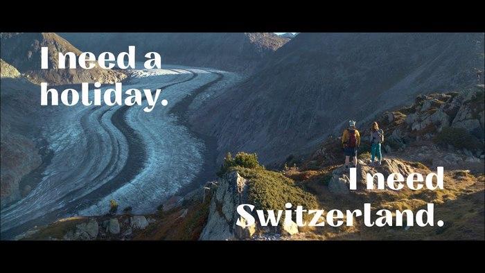 """""""Ich/Wir brauchen Schweiz."""" [""""I/We need Switzerland.""""] campaign 1"""