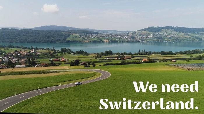 """""""Ich/Wir brauchen Schweiz."""" [""""I/We need Switzerland.""""] campaign 7"""