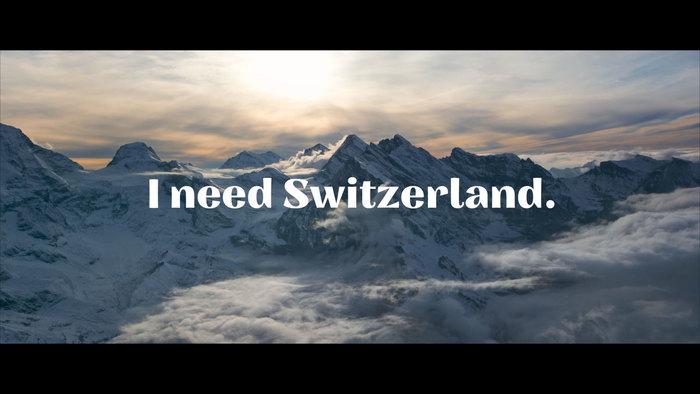 """""""Ich/Wir brauchen Schweiz."""" [""""I/We need Switzerland.""""] campaign 10"""