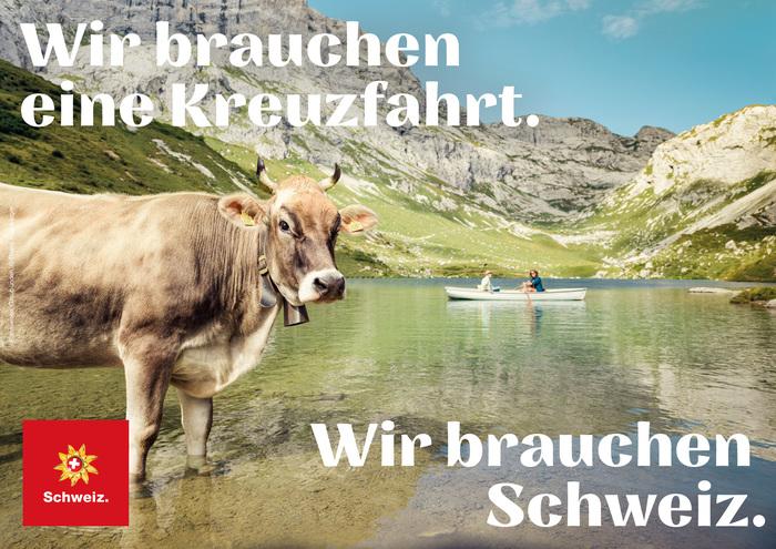 """""""Ich/Wir brauchen Schweiz."""" [""""I/We need Switzerland.""""] campaign 2"""