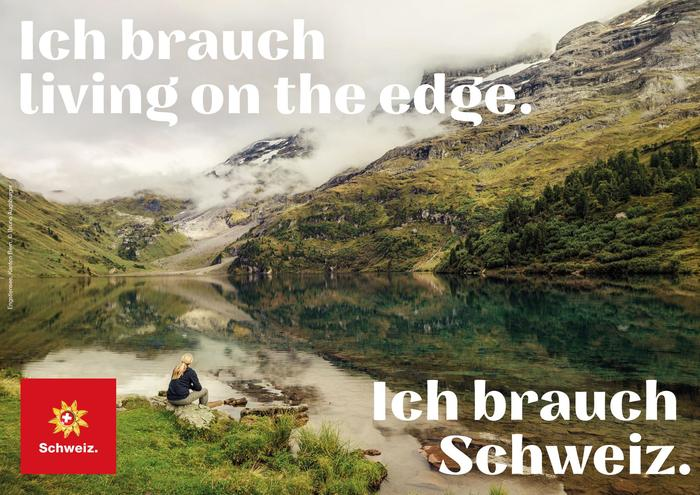 """""""Ich/Wir brauchen Schweiz."""" [""""I/We need Switzerland.""""] campaign 3"""
