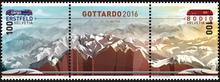 Gottardo 2016 stamps