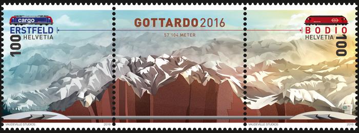 Gottardo 2016 stamps 1