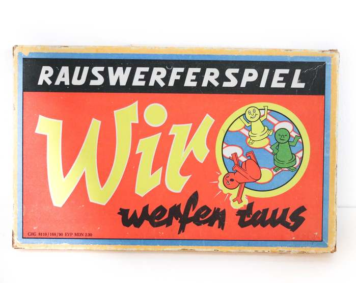 A different (later?) edition shortened the name to Wir werfen raus.