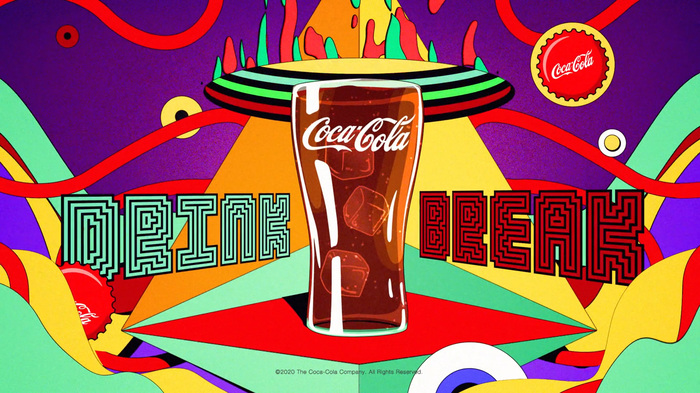 "Coca-Cola × Twitch ""Drink Break"" ad 2"