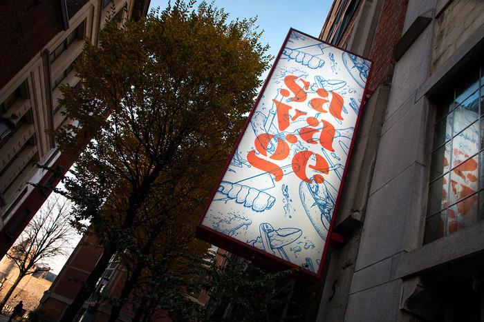 Savage lobster restaurant, Antwerp 1