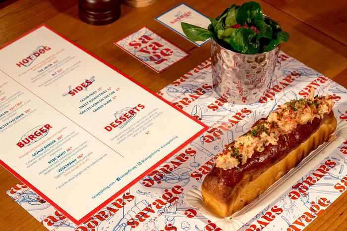 Savage lobster restaurant, Antwerp 4