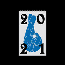 Fingers Crossed calendar 2021