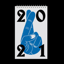 Fingers Crossed calendar 2021