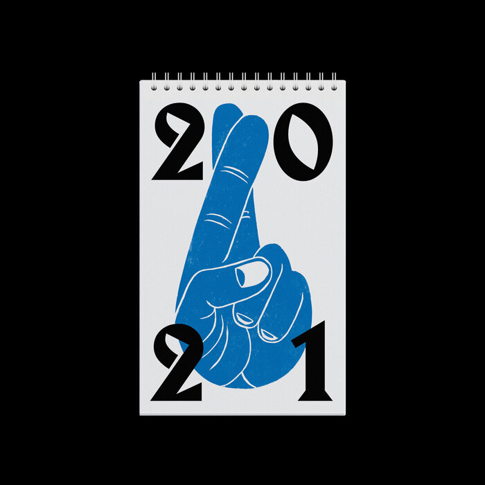 Fingers Crossed calendar 2021 1
