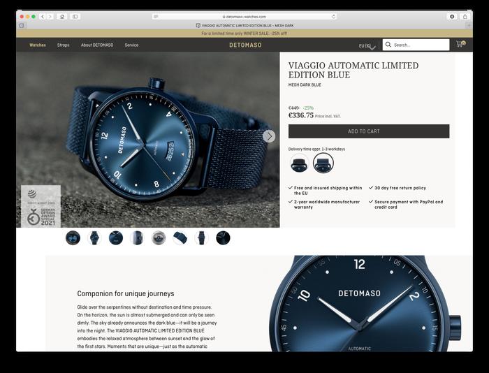 Detomaso Watches 12