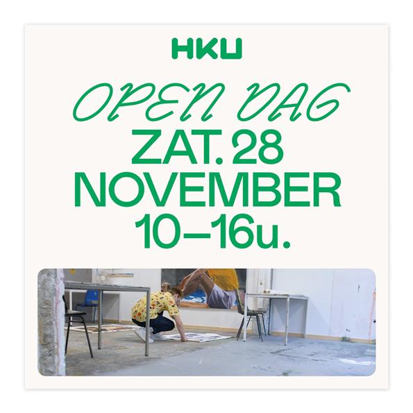 HKU Open Dag campaign 2