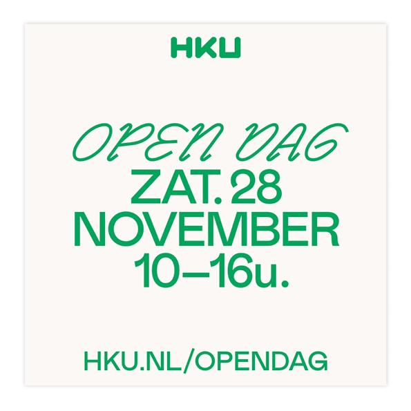 HKU Open Dag campaign 4