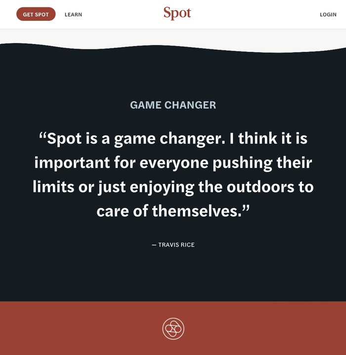 Life By Spot website 6
