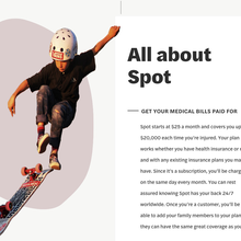 Life By Spot website