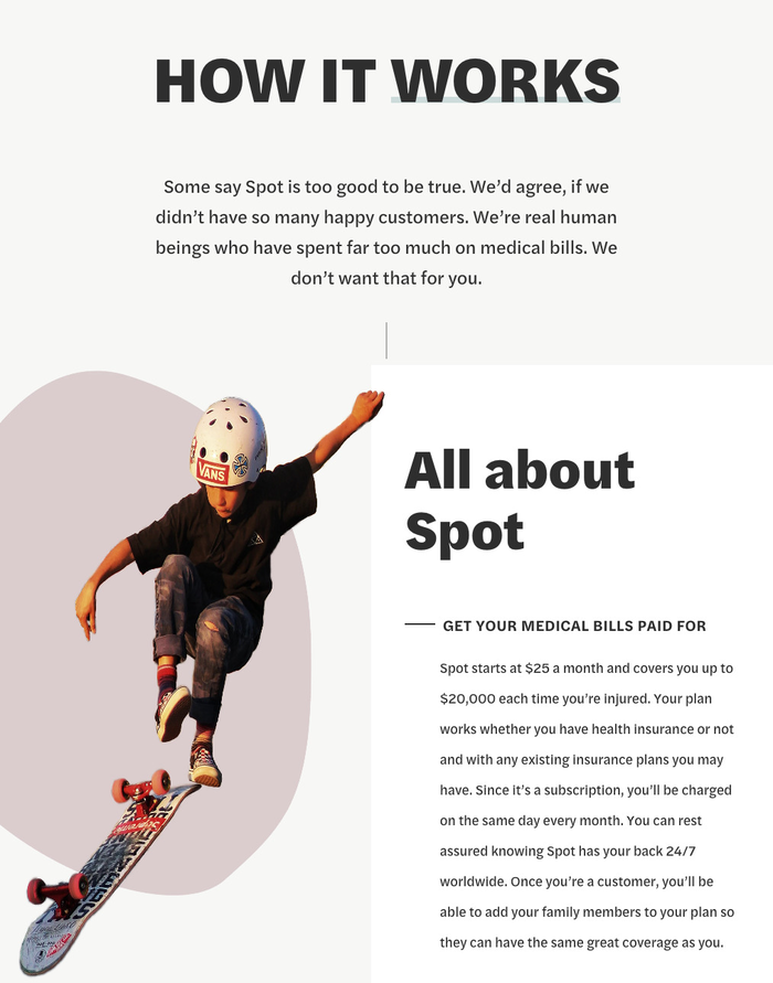 Life By Spot website 3