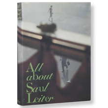 <cite>All about Saul Leiter</cite> book jacket