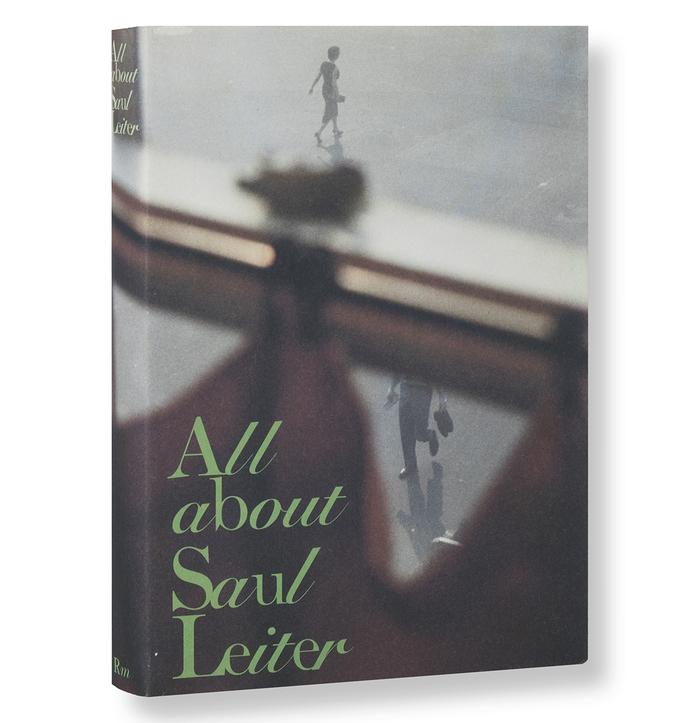 All about Saul Leiter book jacket 1