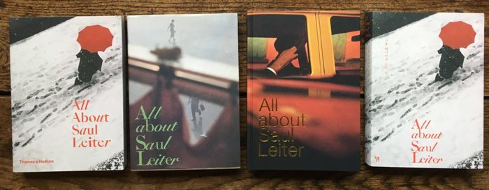 The other editions of this book. Left to right: Edition from the U.K. (Thames & Hudson), Spain/North America (Editorial RM), France (Éditions Textuel), and South Korea (Will Books).