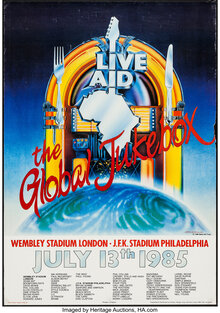 Live Aid (1985) posters