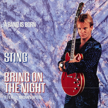 <cite>Bring On The Night</cite> (1985) teaser poster