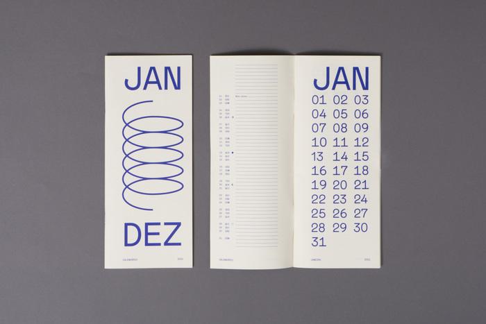 2021 typographic calendar 5