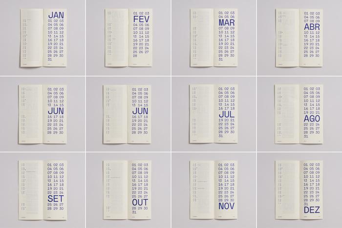 2021 typographic calendar 3