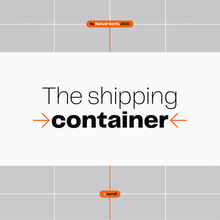 The Shipping Container website