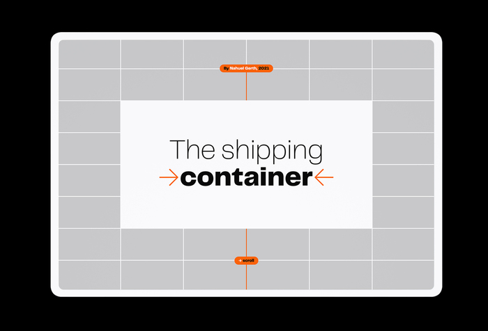 Introslide: The shipping container