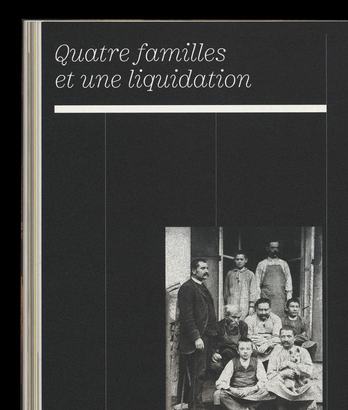 From Sphères no. 1, January 2020. Headline in Minotaur Light Italic.