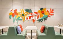 Café Flor at Schiphol Airport