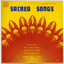 Barbara Troxell – <cite>Sacred Songs</cite> album art