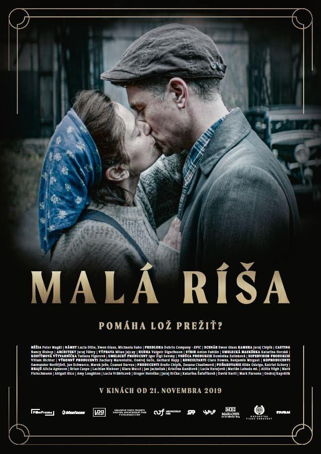 Slovak movie poster.