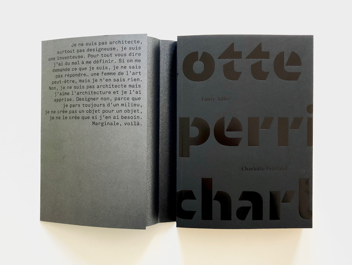 Charlotte Perriand by Laure Adler (Gallimard) 2