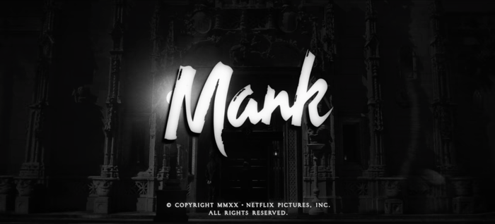 Mank (2020) posters, titles, promotional materials 8