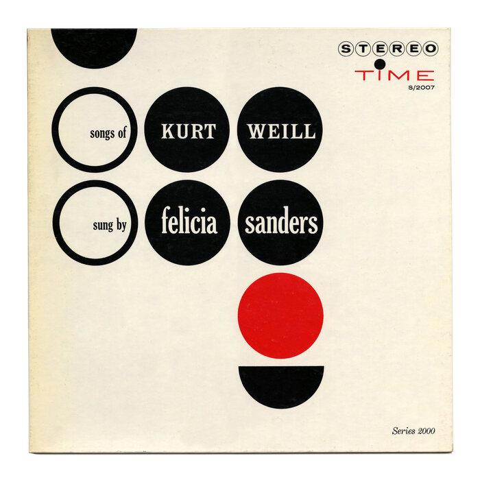 Felicia Sanders – The Songs Of Kurt Weill album art