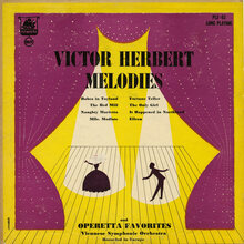 Viennese Symphonic Orchestra – <cite>Victor Herbert Melodies And Operetta Favorites</cite> album art