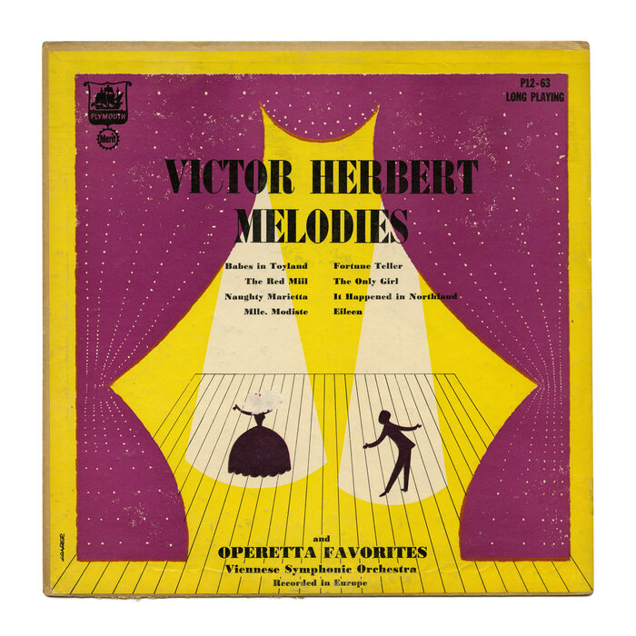 Viennese Symphonic Orchestra – Victor Herbert Melodies And Operetta Favorites album art