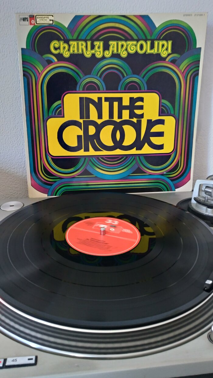 Charly Antolini – In The Groove album art 3