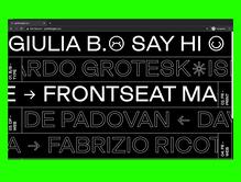 Giulia B. portfolio website