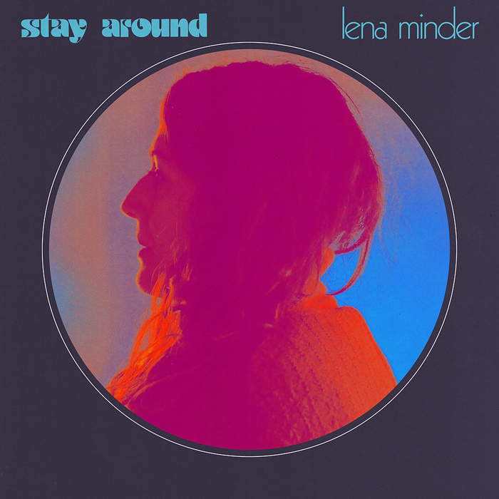 """Lena Minder – """"Stay Around"""" single cover"""