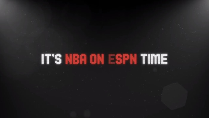 NBA Saturday Primetime promo ad and graphics 9