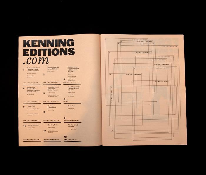 Kenning Editions catalog 2021 2