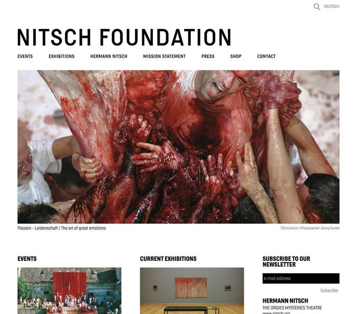 Nitsch Foundation 1